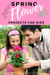 Spring is the perfect time to do some flower inspired activities.